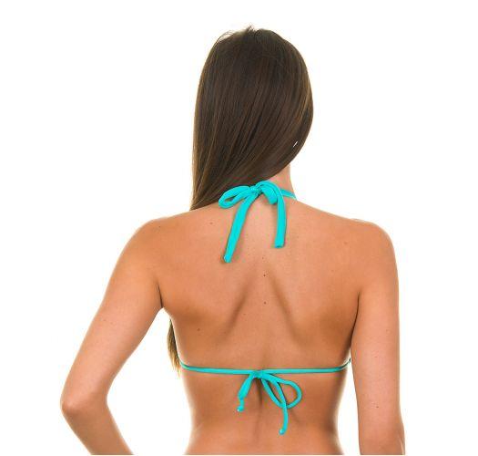 Haut de maillot triangle bleu ciel - SKY CORTINAO