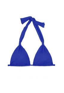 Góra bikini ciemnoniebieska z wiązaniem na szyi - SOUTIEN AMBRA MEL PLANETARIO