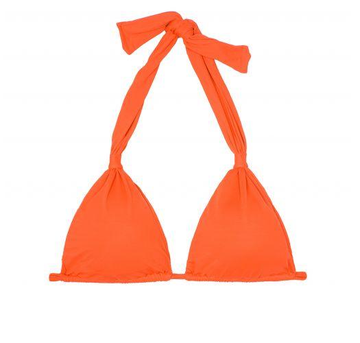Orange scarf-style triangle bikini top - SOUTIEN AMBRA MEL SOMBRERO