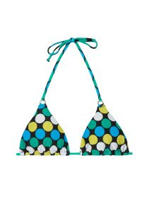 Reggiseno a triangolo, a pois colorati - SOUTIEN GALAXY CHEEKY