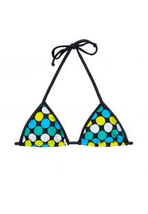 Spotted triangle swimsuittop - SOUTIEN IBITIPOCA