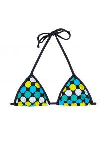 Triangel-Bikinioberteil mit farbigen Punkten - SOUTIEN IBITIPOCA