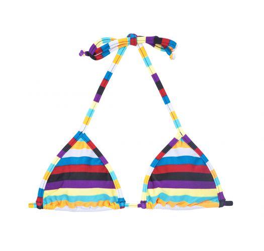 Triangle à rayures multicolores - SOUTIEN INHAMBUS MICRO