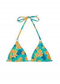 Floralsliding triangle bikini top - SOUTIEN LEI CHEEKY