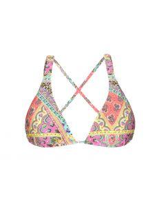 Triangel-Bikini-Oberteil mit Foulard-Druck - SOUTIEN MUNDOMIX COOL
