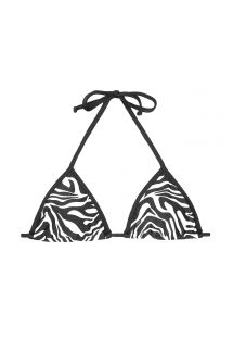 Triangle top - SOUTIEN ZEBRADO