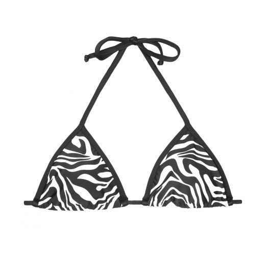 Triangle top - SOUTIEN ZEBRADO