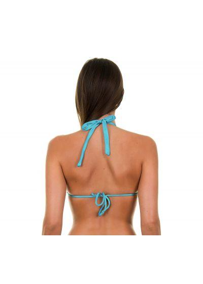 Justerbar blå triangel bikini - TAHITI CORTINAO