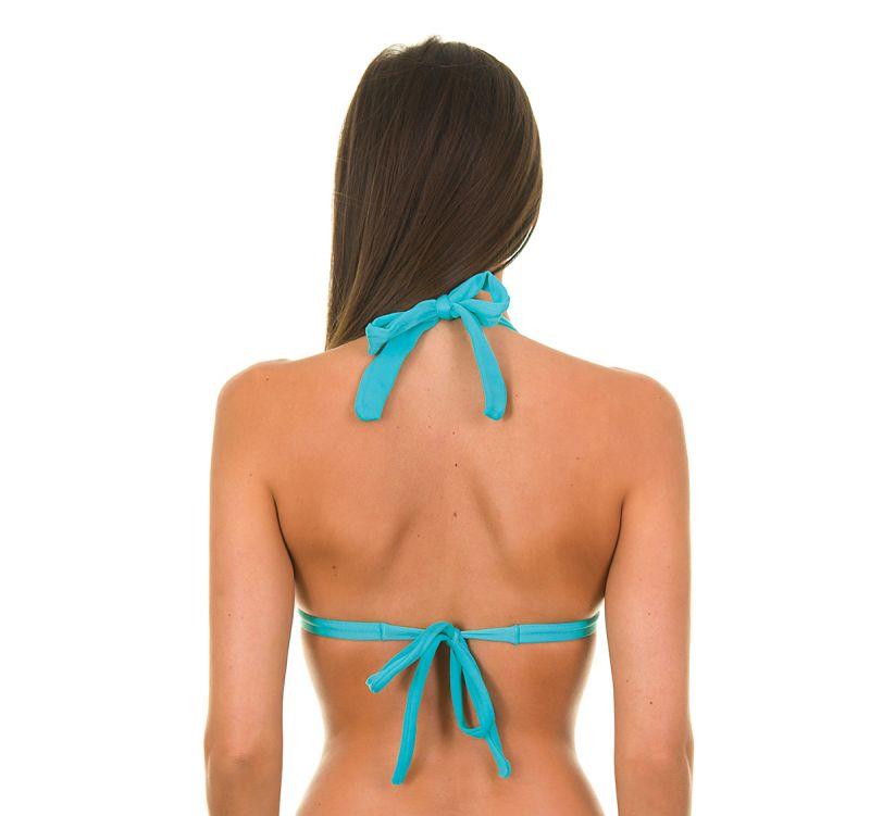 Blå triangel bikini med kupor - TAHITI TRI FIXO
