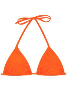 Orange triangle bikini top - TOP  LACINHO KING