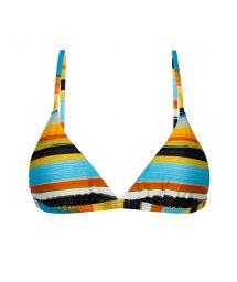 Adjustable triangle top in colorful stripes - TOP ARTSY TRI-FIXO