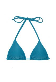 Blue sliding triangle bikini top - TOP BEACH NILO ROLOTE