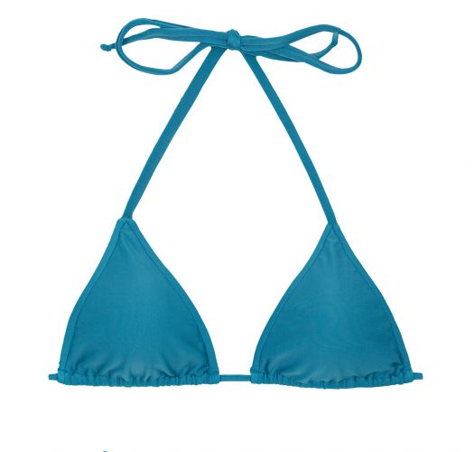 Blue sliding triangle bikini top - TOP BEACH NILO ROLOTE