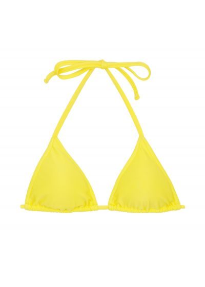 Lemon yellow triangle top - TOP BEACH STREGA ROLOTE