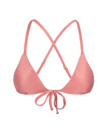 Pink peach triangle crossover top - TOP BELLA TRI ARG MICRO