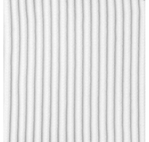 White ribbed sliding triangle top - TOP COTELE-BRANCO TRI-INV