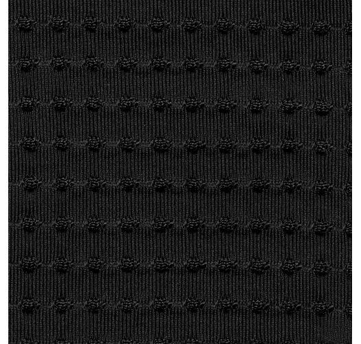 TOP DOTS-BLACK TRI-MEL