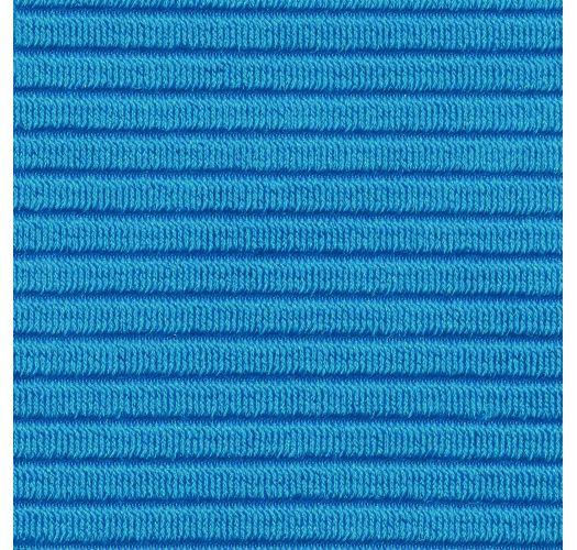 Top de bikini bralette azul con textura - TOP EDEN-ENSEADA BRALETTE