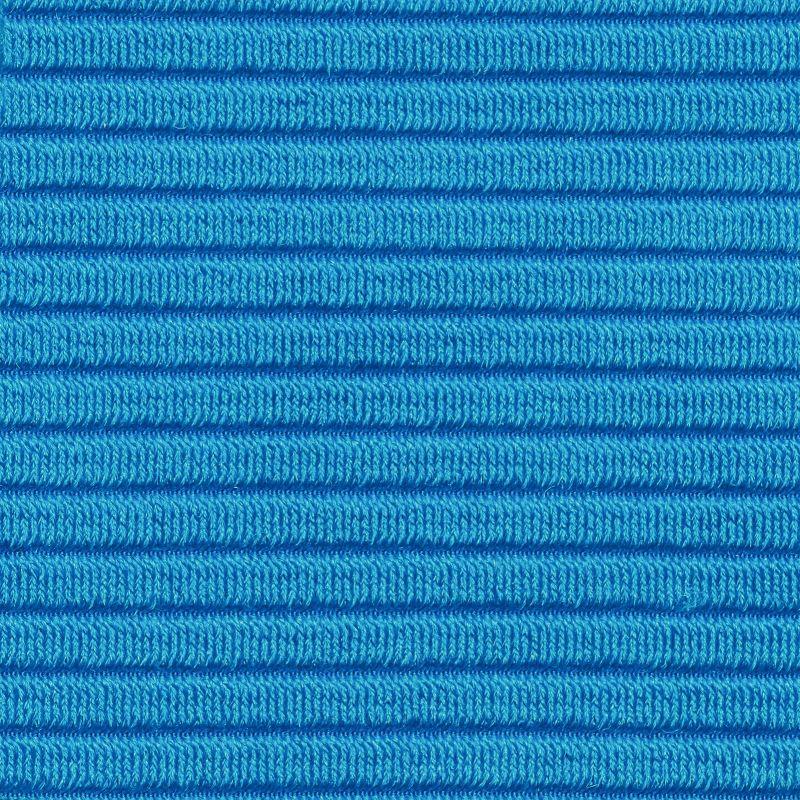 Textured blue bralette top - TOP EDEN-ENSEADA BRALETTE