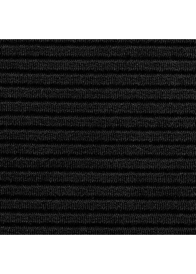 Textured black underwired balconette bikini top - TOP EDEN-PRETO BALCONET