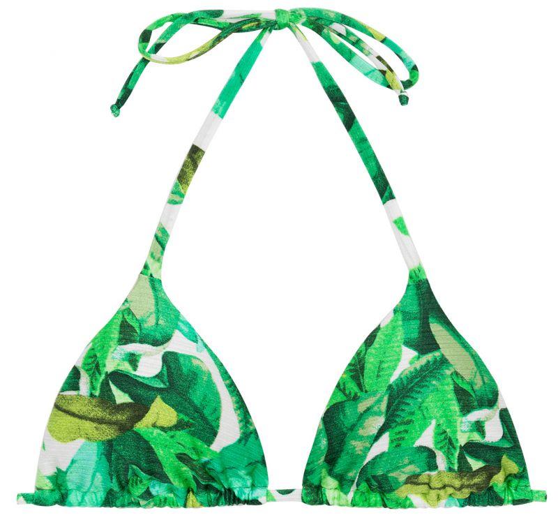Grön trekantstopp - TOP FOLHAGEM HOT PANT
