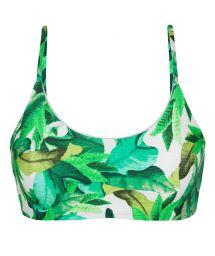 Grön bikinitopp i behåmodell - TOP FOLHAGEM LAÇO