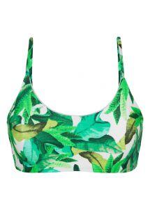 Grøn bikini bh-top - TOP FOLHAGEM LAÇO