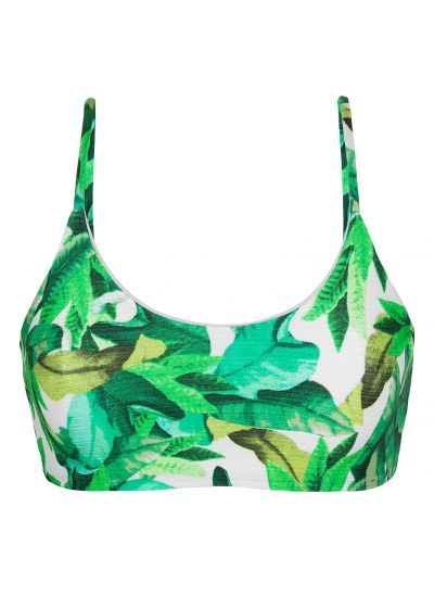 Green bra bikini top - TOP FOLHAGEM LAÇO