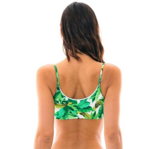 Grünes Bra Bikini-Oberteil - TOP FOLHAGEM LAÇO