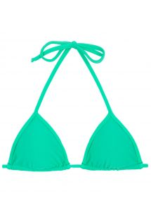 Green sliding triangle bikini top - TOP MARESIA TRI