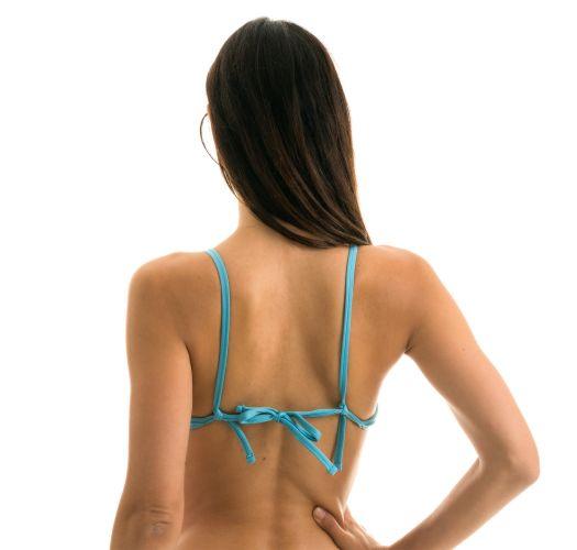 Sky blue balconette bikini top - TOP ORVALHO BALCONET