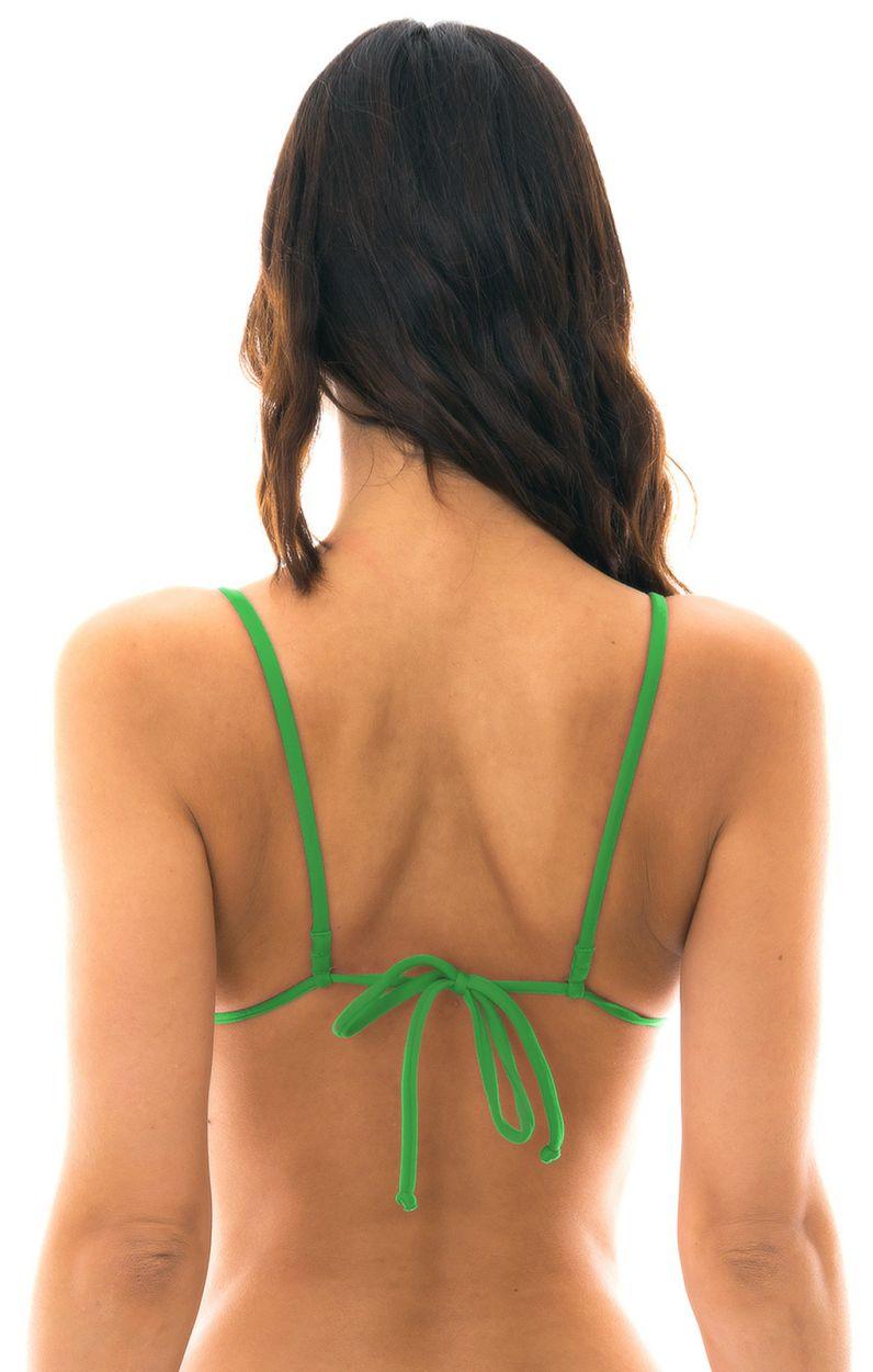 Green triangle bikini top - TOP PETER PAN ARG FIXO