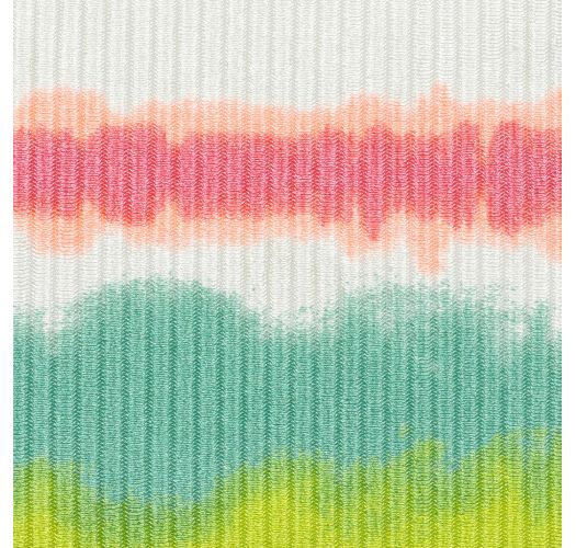 Tie-dye striped underwired balconette top - TOP REVELRY BALCONET