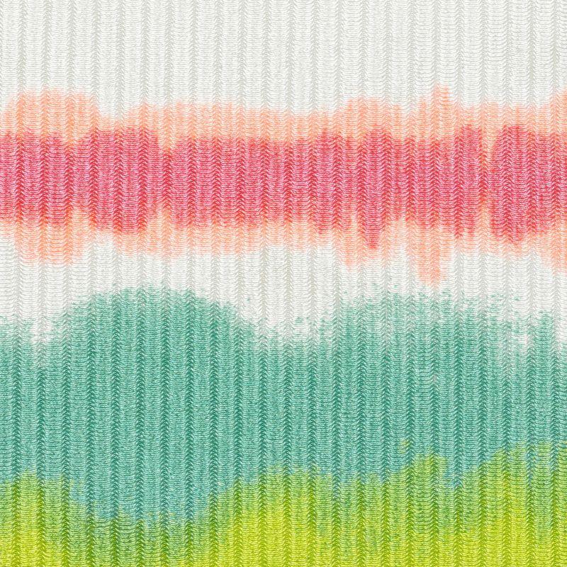 Tie-dye stripe V bralette top - TOP REVELRY BRA-V