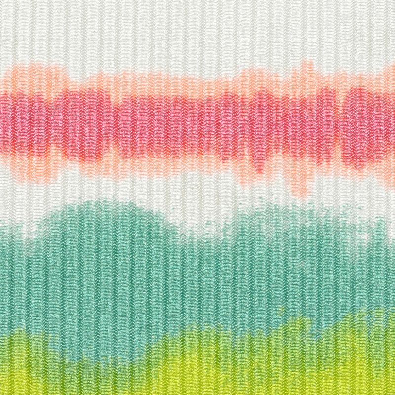 Tie-dye stripe V-underwired bikini top - TOP REVELRY TRI-ARO