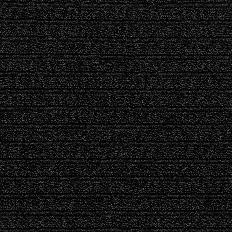 Textured black balconette top with crossed straps - TOP ST-TROPEZ-BLACK BALCONET