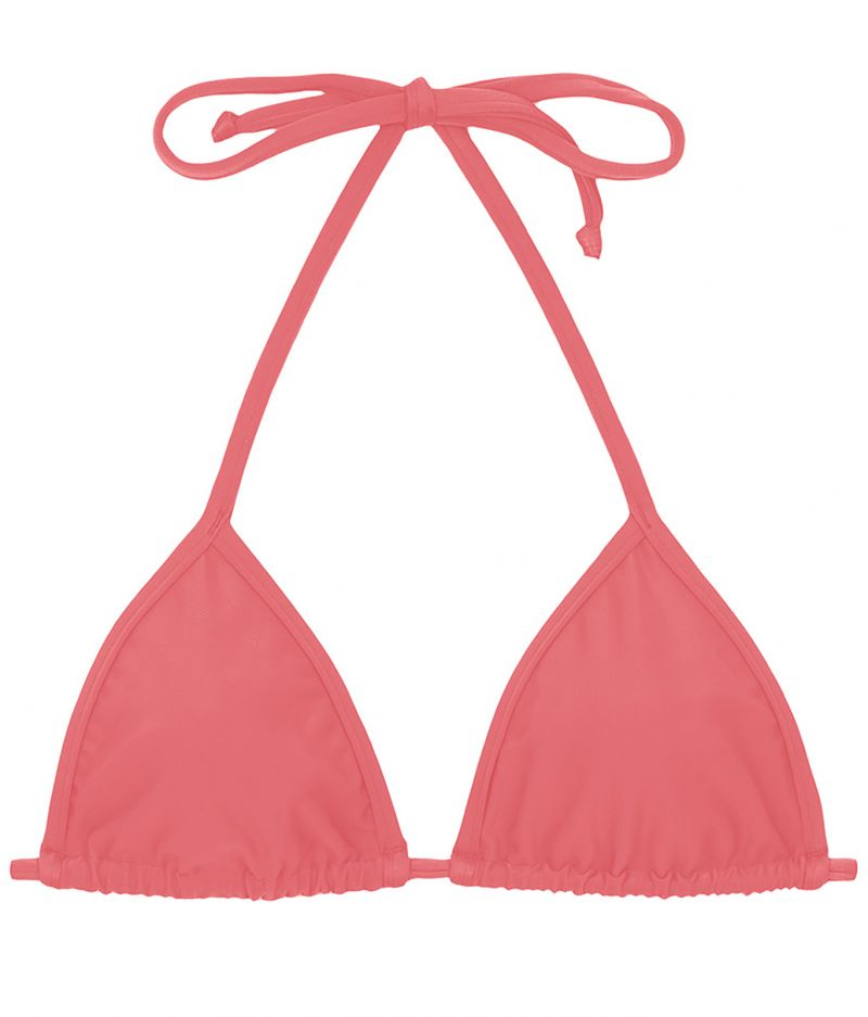 Pink sling triangle top - TOP TRI MICRO ROSA HARMONIA