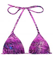 Purple triangle bikini top - TOP ULTRA VIOLET HOT PANT