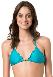 Triangle top - SOUTIEN TEAL RESINA