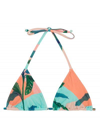 Tropisk pastellfärgad trekants- övredel - TOP ROLOTE BRISA