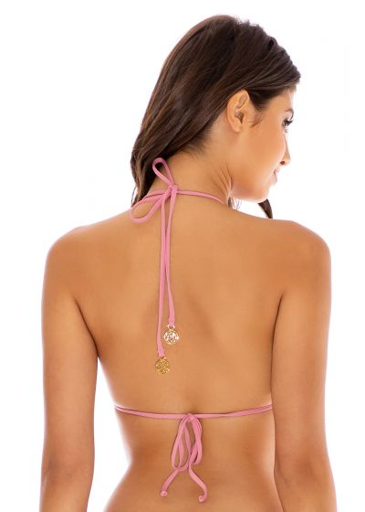 TOP SEAMLESS RUCHED BLUSH RIVER DANCE