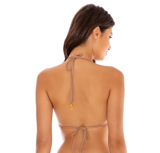 TOP SEAMLESS RUCHED COCONUT RIVER DANCE