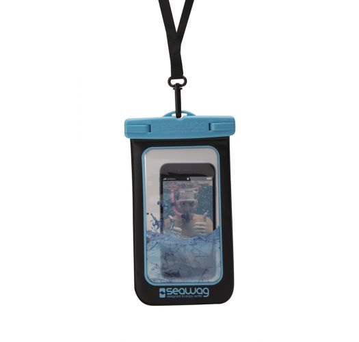 Wasserdichte Box für Smartphone BLAU - WATERPROOF CASE BLUE