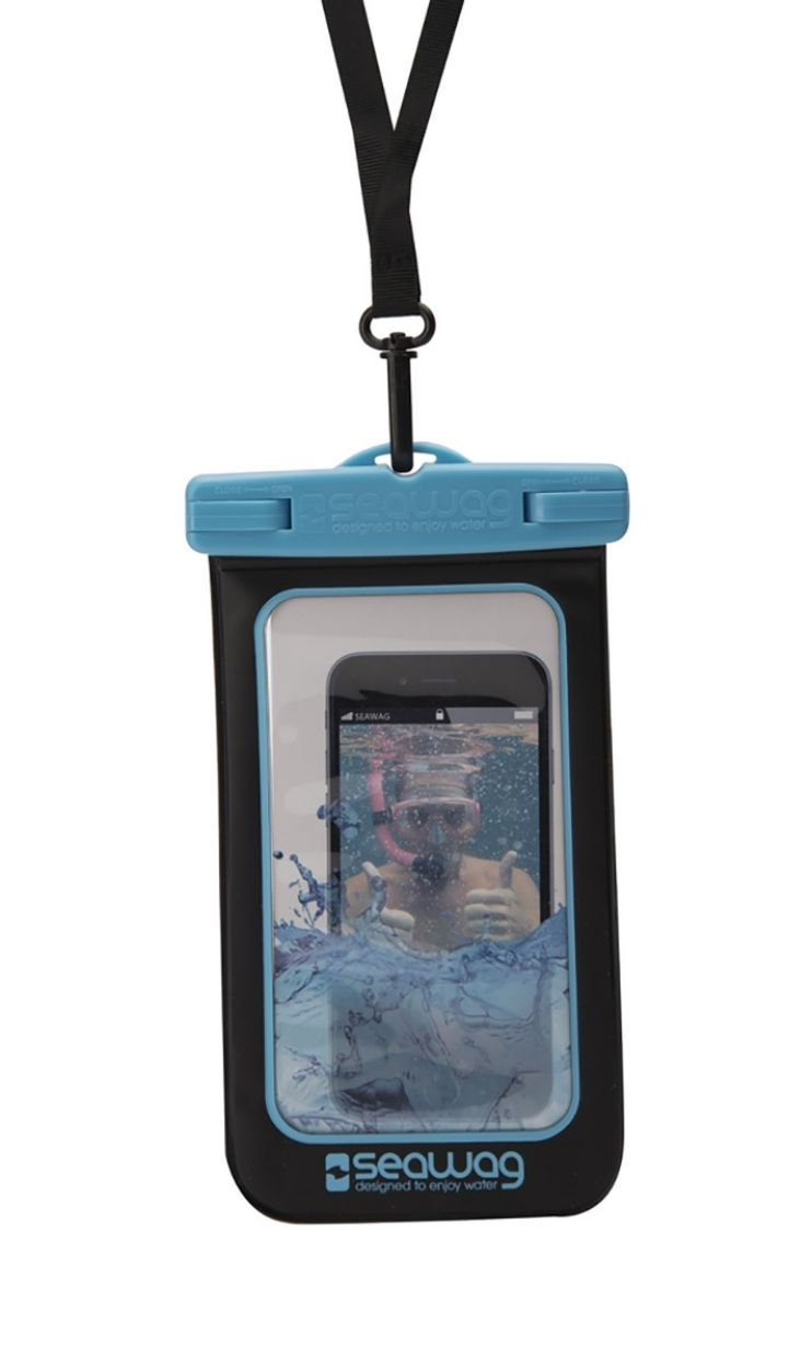 Waterproof case for smartphone BLUE - WATERPROOF CASE BLUE