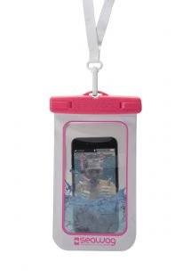 Custodia resistente all&#39acqua per smartphone ROSA - WATERPROOF CASE PINK