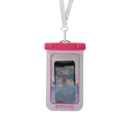 Wasserdichte Box für Smartphone ROSA - WATERPROOF CASE PINK
