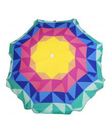 Colorful beach umbrella - BEACH UMBRELLA MONTEBELLO