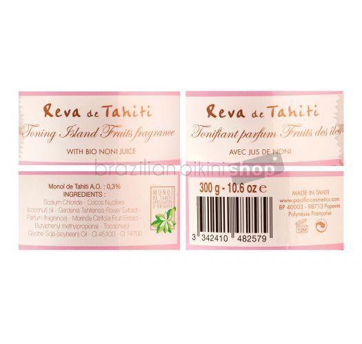 아일랜드 후르츠 목욕용 소금 - Reva de Tahiti - Sel de bain Noni