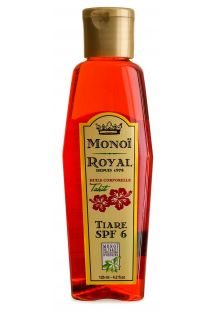 Body oil with tiare flower - SPF 7 - ROYAL MONOI TIARE SPF7 125ML