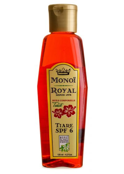 Body oil with tiare flower - SPF 7 - ROYAL MONOI TIARE SPF7 125ML